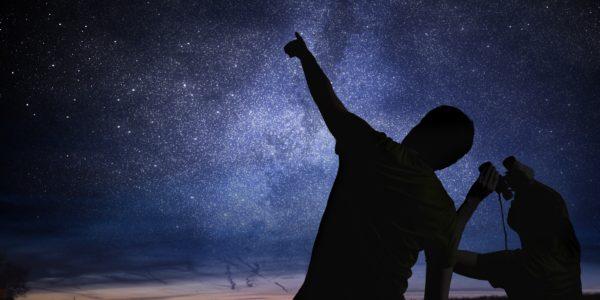 Astronomy stargazing