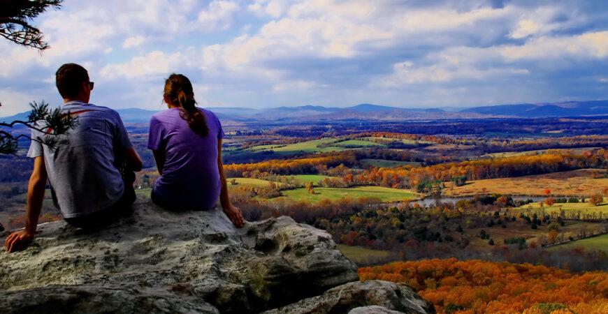 Fall Blue Ridge mountains tour