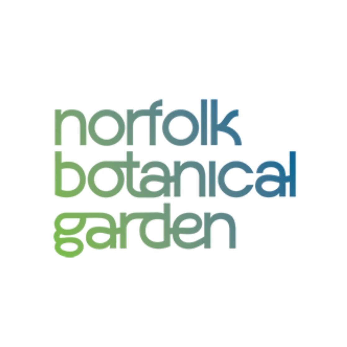Norfolk botanical gardens logo