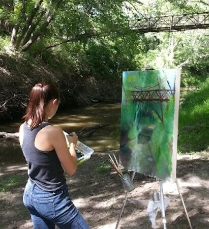 Guided Painting with an Artist