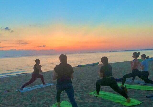 Ocean Waves Yoga & Beach Picnic