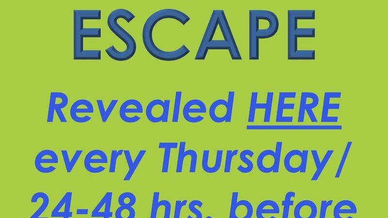 Saturday Escape #4